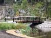 Kalajoen Teräs_Korson keskuspuisto, Vantaa(2)_sillan kaiteet